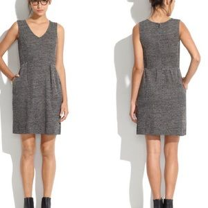 Madewell Dovetail Dress Tweed Fit and Flare Dress